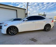 2015 Lexus IS 250 Crafted Line NAVI/REVCAM/SROOF/ CLEAN TITLE 1 OWNER